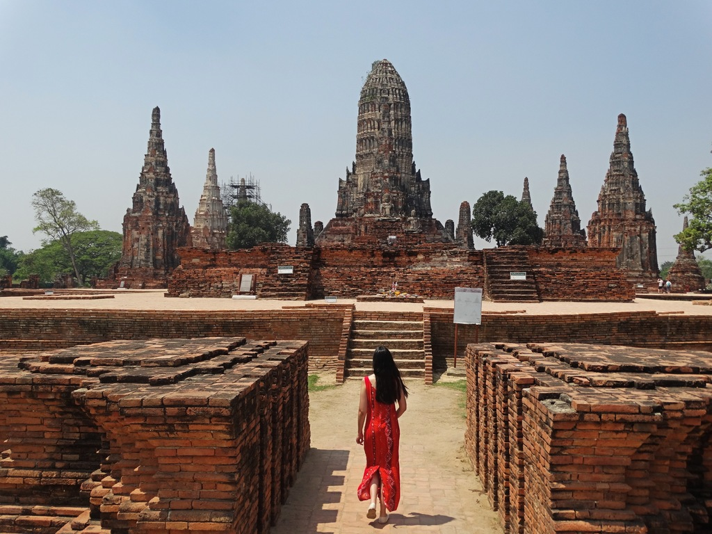 Wat Chaiwatthanaram is one of the best temples to visit in Ayutthaya