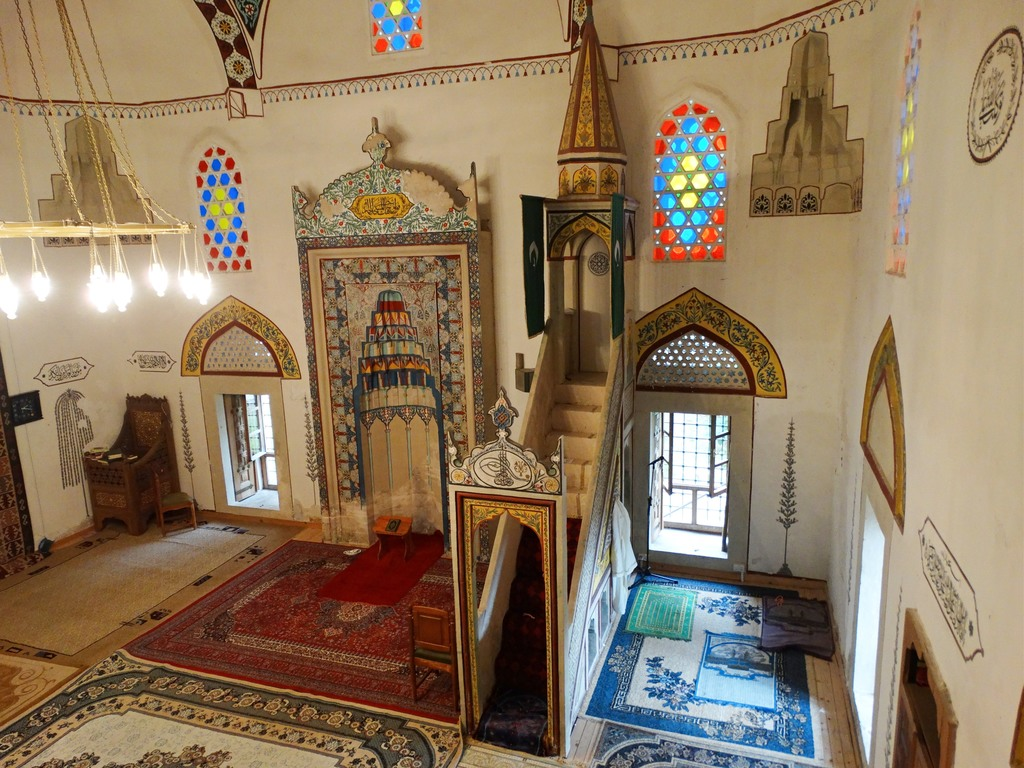 Interiors of Koskin-Mehmed Pasha Mosque