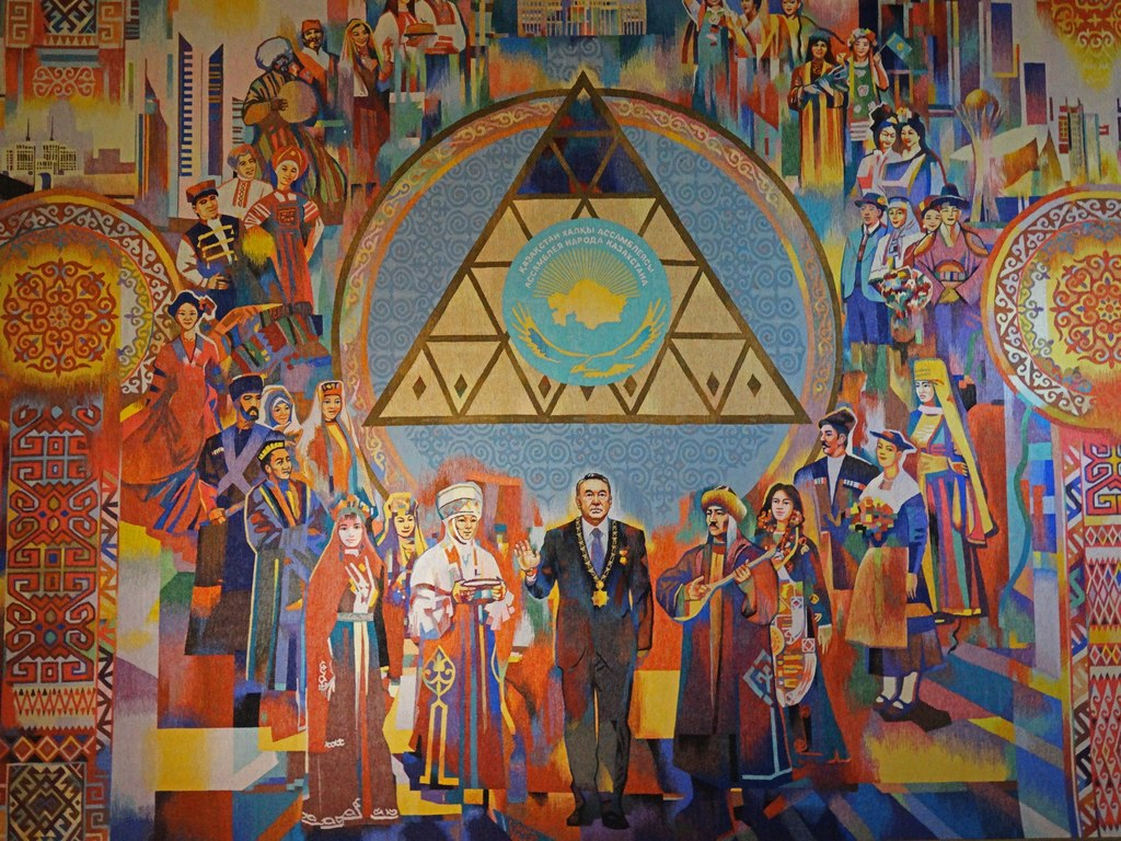 Painting at the Kazakhstan National Museum