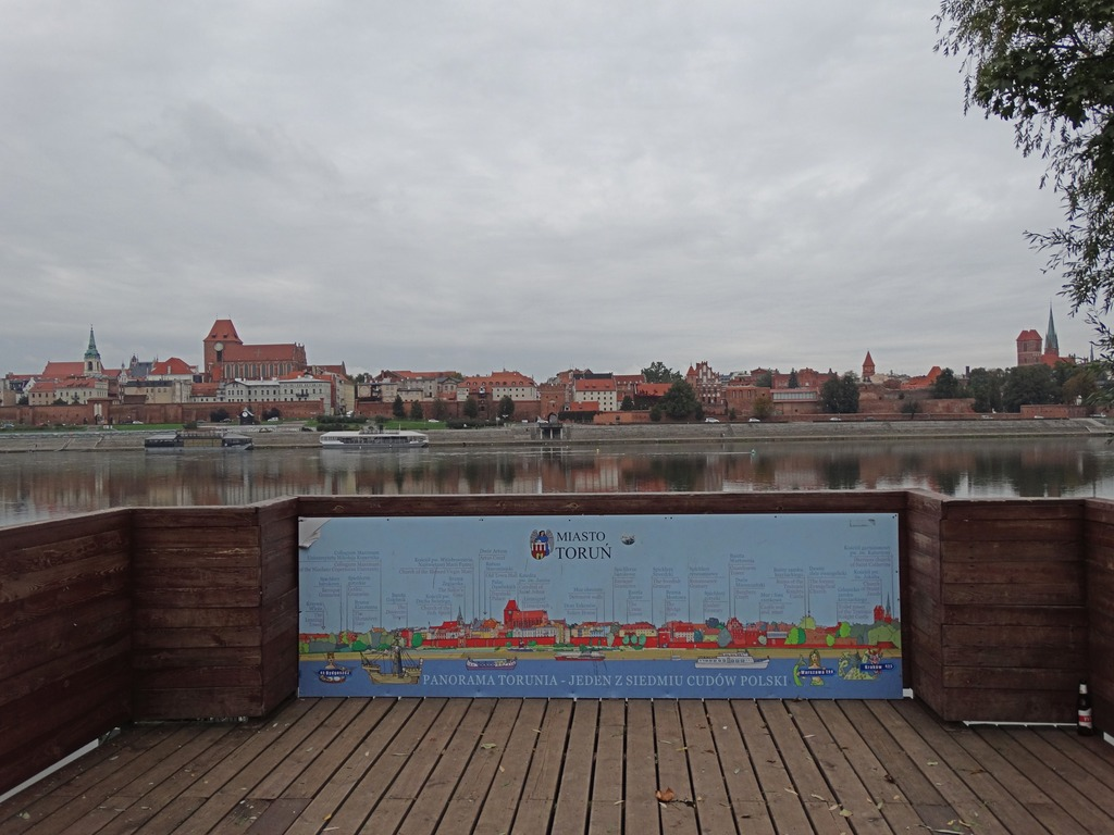 One Day Torun Itinerary - The panoramic platform over the Vistula River
