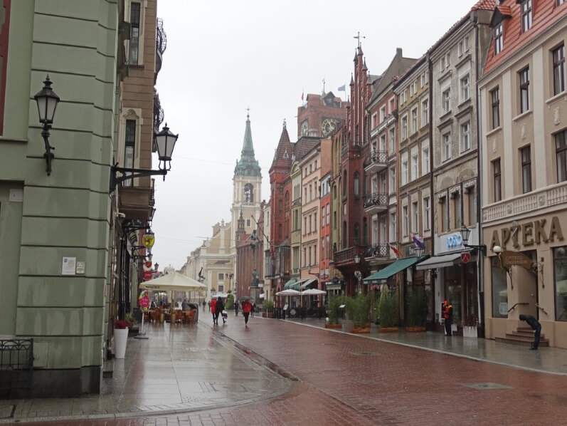 Cidade velha de Torun, Polónia